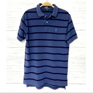 Polo Ralph Lauren Blue Striped Shirt